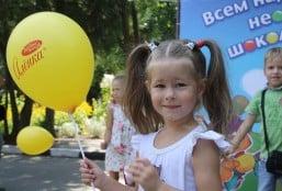 """1 сентября в Симферополе прошел праздник с ТМ """"Аленка"""""""